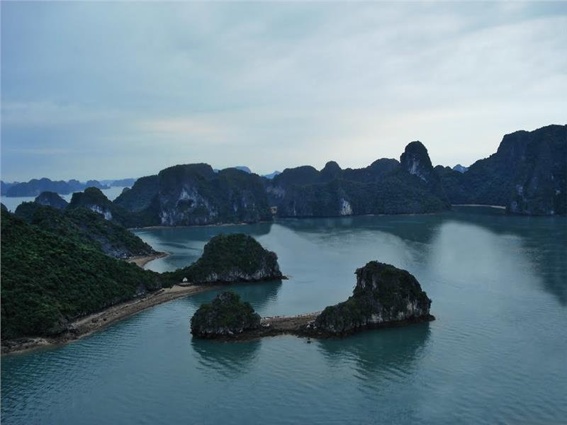 Tranquil scenery at Cong Do Island