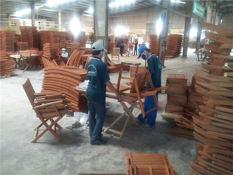 A wooden factory in Qui Nhon, Binh Dinh