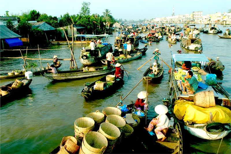Ho Chi Minh - Group tour - My Tho - Can Tho - Chau Doc - Deluxe - 3D2N- Code 530-2