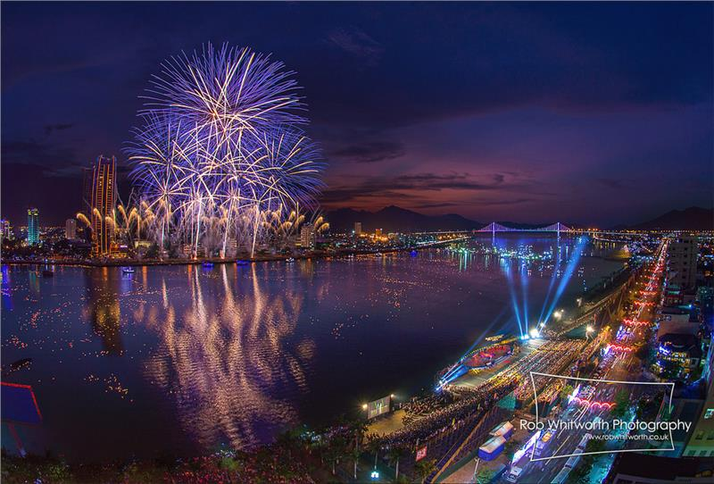 Da Nang International Fireworks Competition 2013