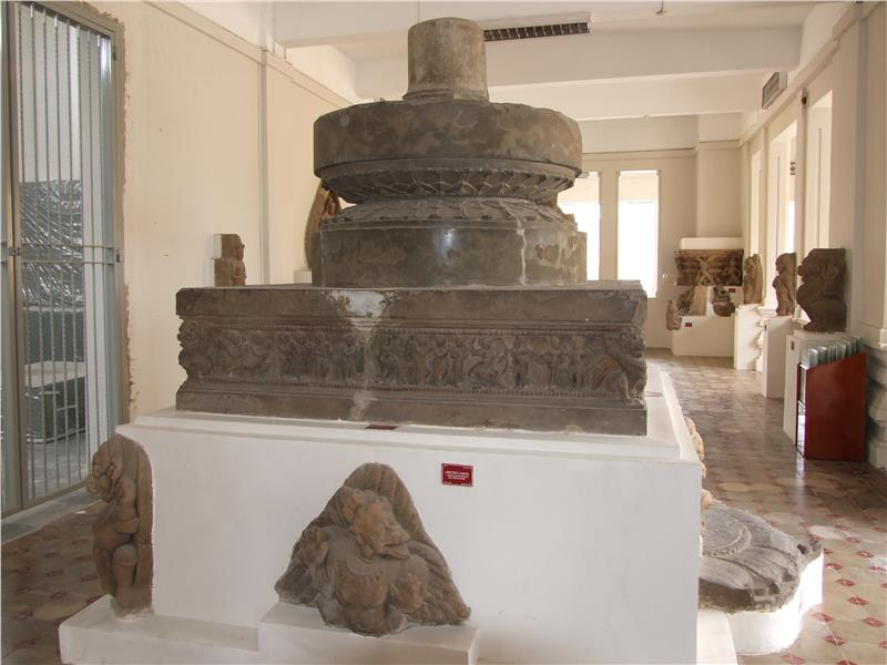 Artifacts of Cham culture displayed in Da Nang