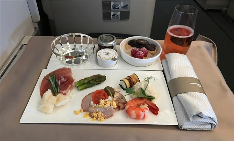 British Airways Club World Service Tray
