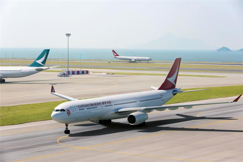 Cathay Dragon livery