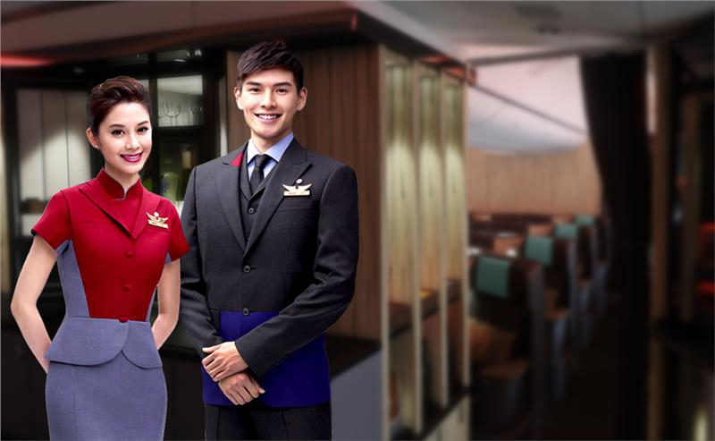 China Airlines cabin crew uniform