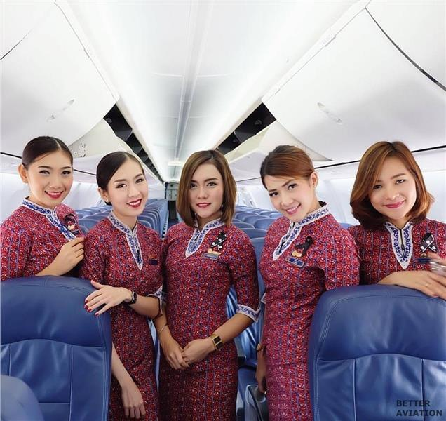 Thai Lion Air Cabin Crew