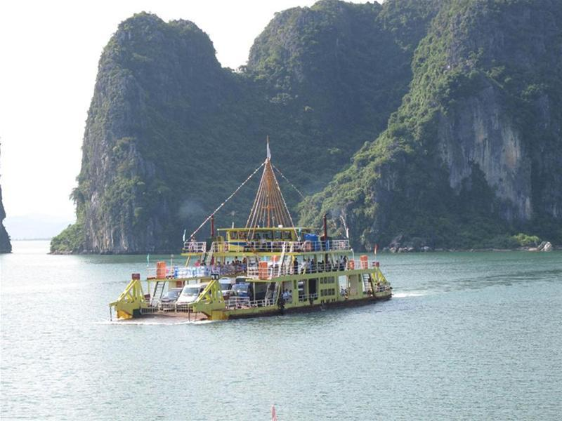 Discover Halong and Cat Ba in Tuan Chau ferry