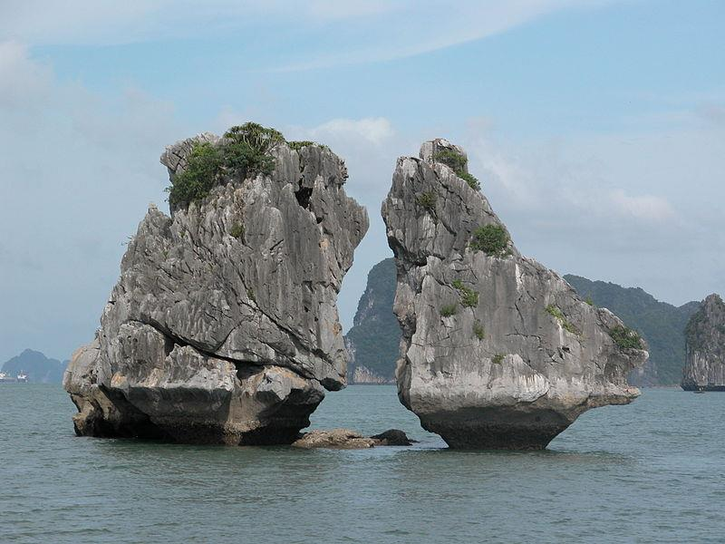 Trong Mai Islet - Fighting Cocks Islet