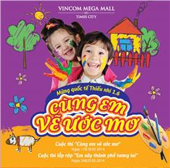 Vincom Center welcomes summer by special events for kids