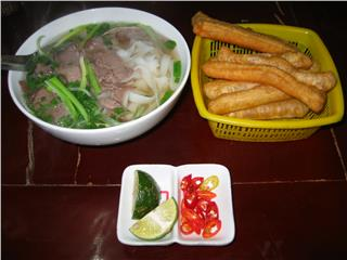 Hanoi cuisine strongly appeals to tourists