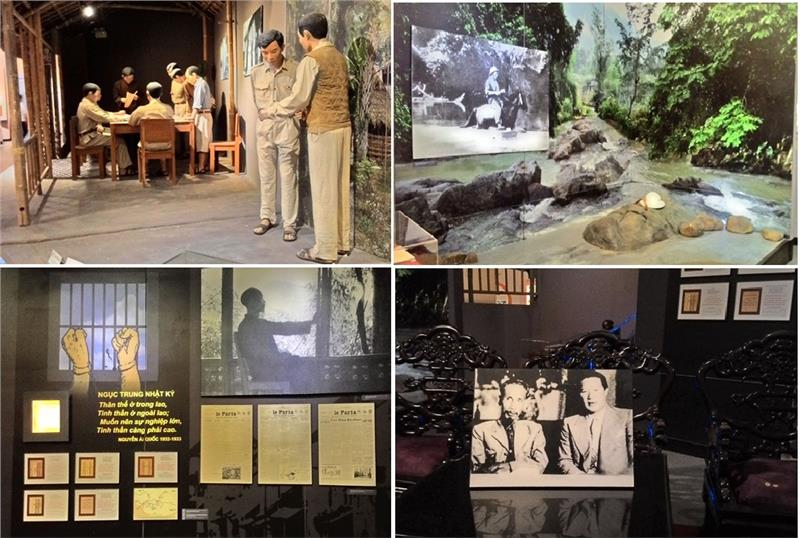 Artifacts and documents in Vietnam Literature Museum