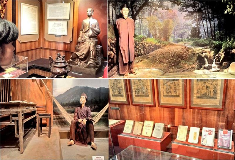 Literary artifacts and documents in Vietnam Museum of Literature