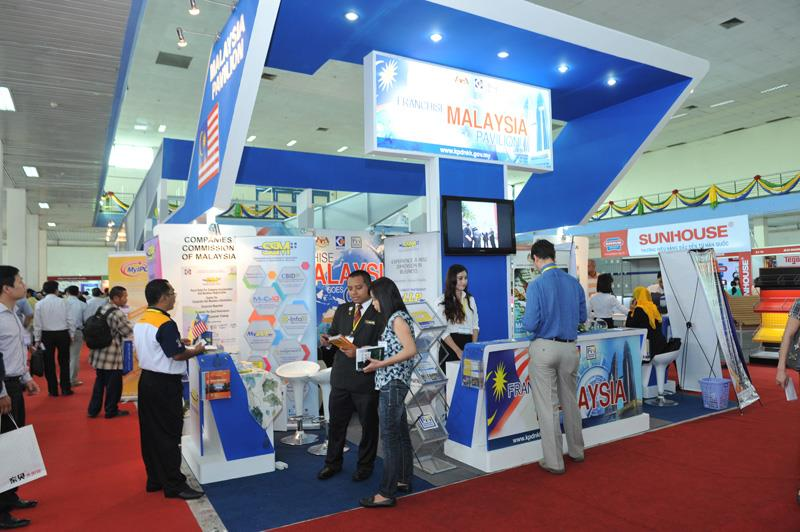 Malaysia booth at Vietnam Expo