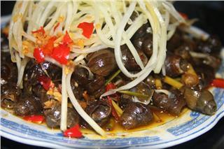 Tasty snail dishes in Vietnamese cuisine