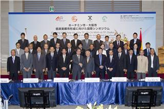 Osaka - Ho Chi Minh project for developing low-carbon city