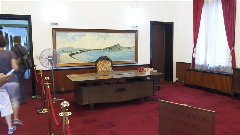 Independence Palace - Working room