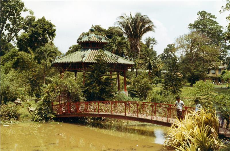 Saigon Zoo and Botanical Gardens in the past