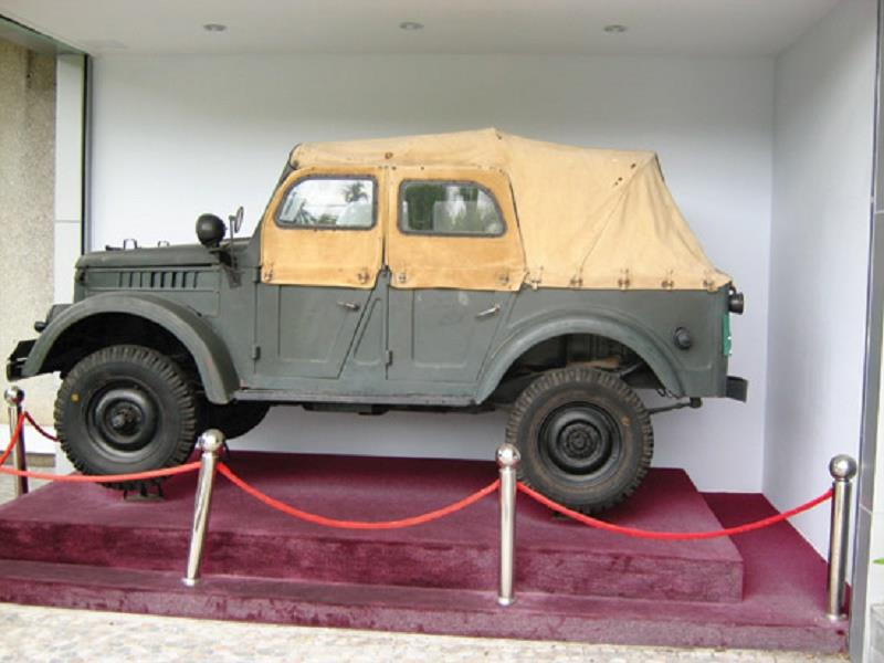 Jeep of Ton Duc Thang