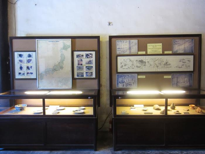 Archaeological relics in Museum of Trading Ceramics