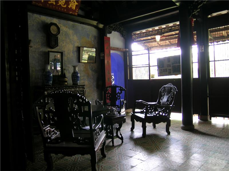 Hall of Tran Family Chapel