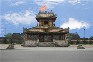 Starting Phu Van Lau Pavilion restoration in Hue Citadel