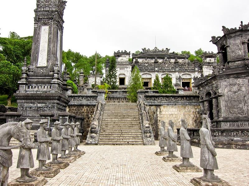 Entrance into Tomb of Khai Dinh