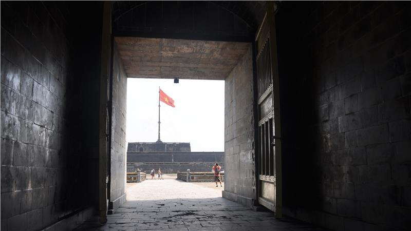Flag Tower from Citadel Gate