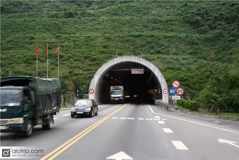 Gate to Hai Van Tunnel