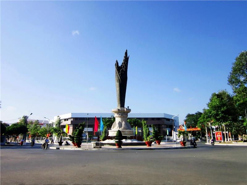 City center of An Giang Province