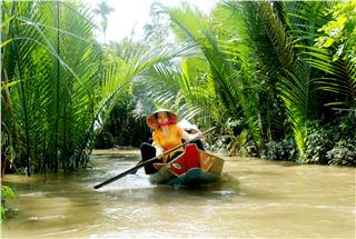 Weather in Mekong River Delta Vietnam