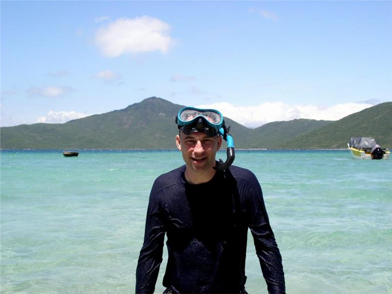 Scuba diving at Whale Island