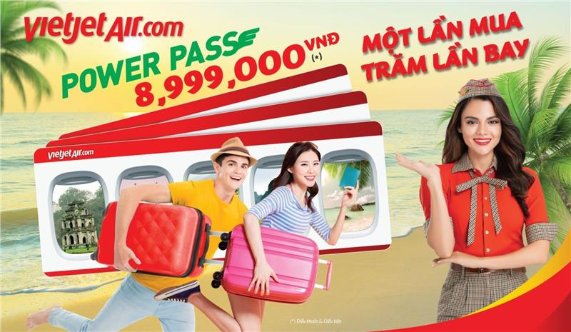 Vietjet Air released Power Pass