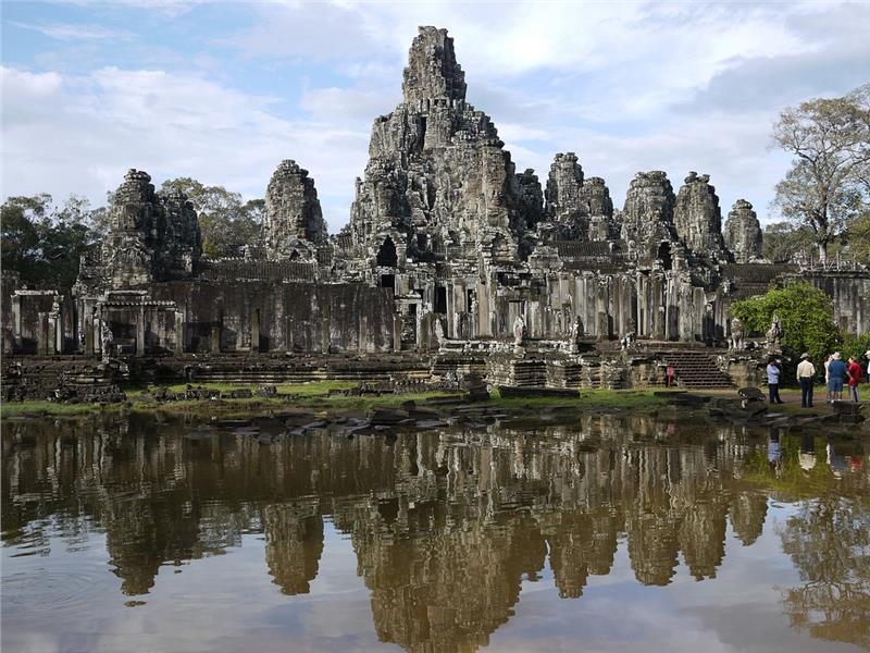 Bayonne Temple, Angkor Thom, Siem Reap, Cambodia