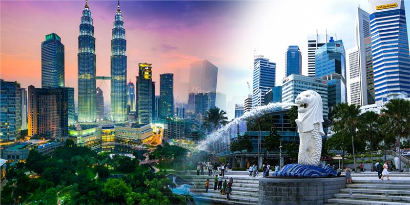 Singapore - Malaysia - Thailand Travel SIM 4G - 7 days- 500MB - SC14