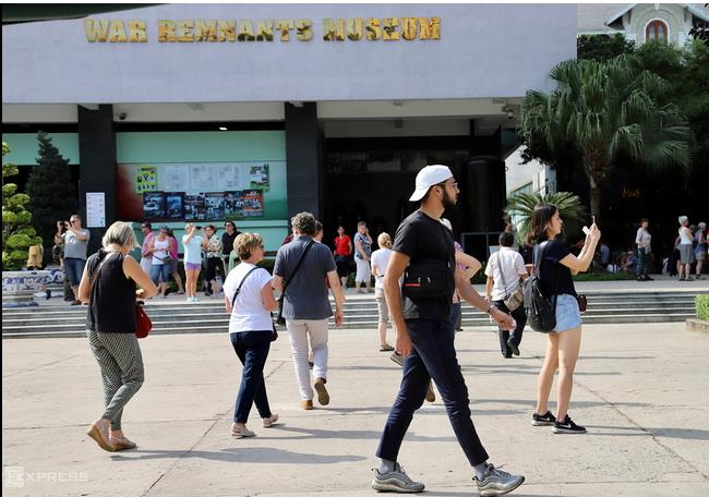 Tourists to Saigon increase amid Covid 19