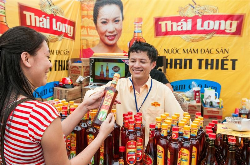 A product of Phan Thiet fish sauce