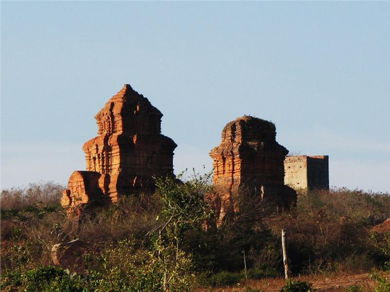 Cham Towers and Prince Castle