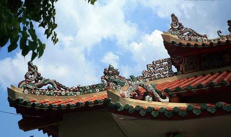 Architecture of Nguyen Trung Truc Temple