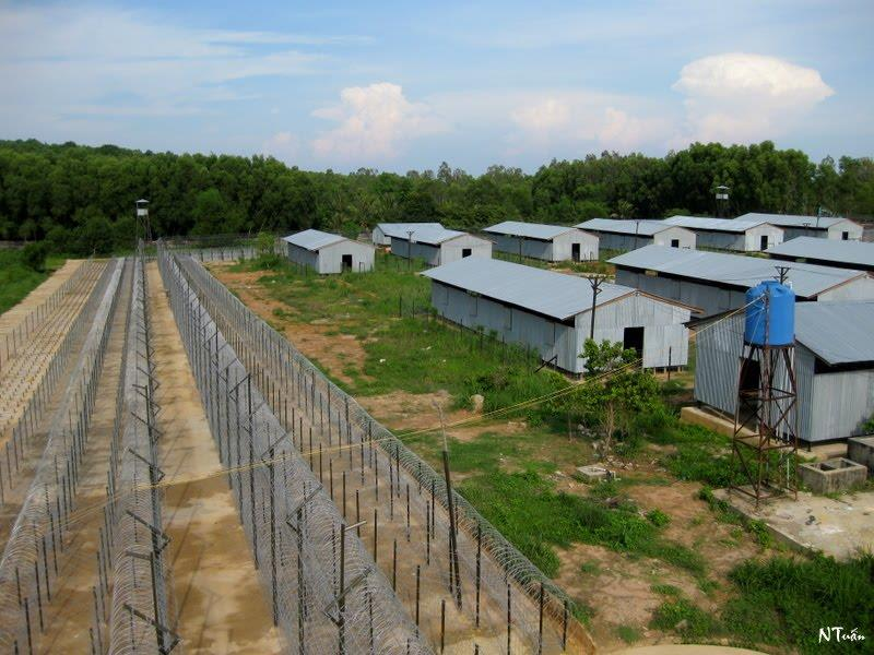 Phu Quoc Prison view from watchtower