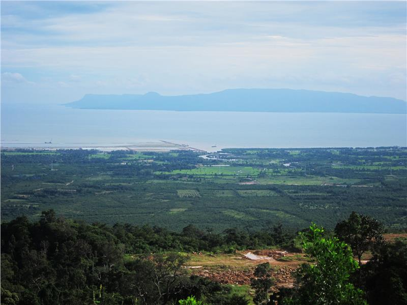 View of Phu Quoc Island from Bokor Mountain