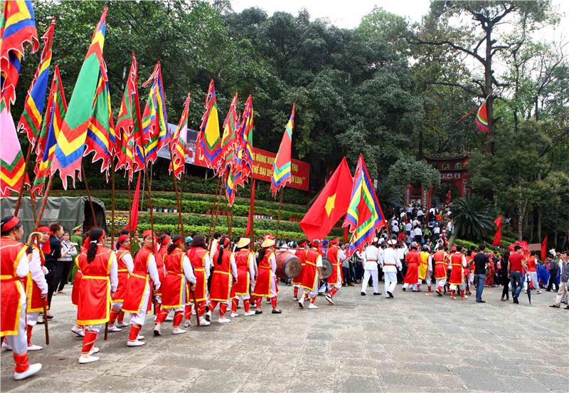 Formal Rituals in Hung King Festival