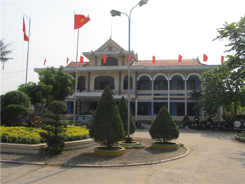 Bo Trach district in Quang Binh province