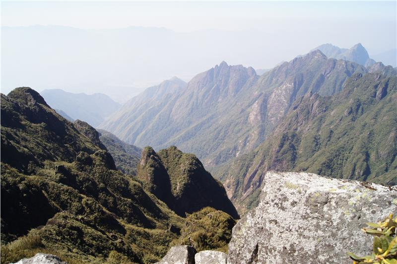 From the summit of Fansipan