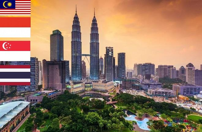 Singapore - Malaysia - Thailand Travel SIM 4G - 5 days - 500MB/day - SC04