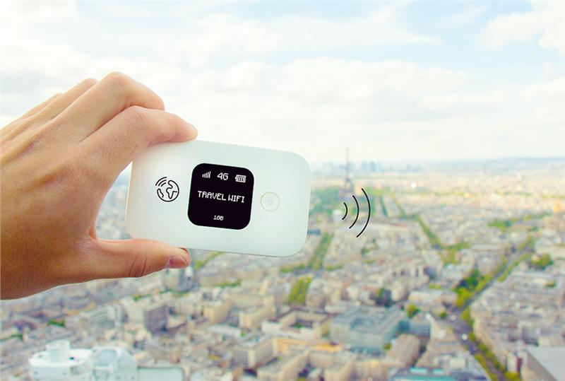 Lifetime World travel WiFi Hotspot 120 countries - KG