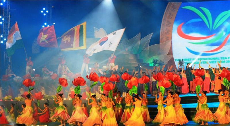 Countries participate inThai Nguyen International Tea Festival