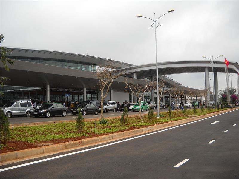 Terminal of Buon Ma Thuot Airport