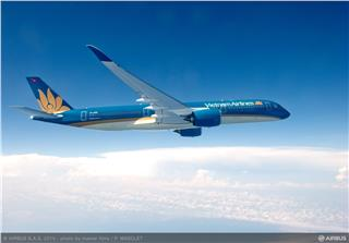 Vietnam Airlines welcomes the first Airbus A350 XWB