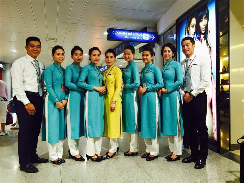 New Vietnam Airlines uniform - New appearance