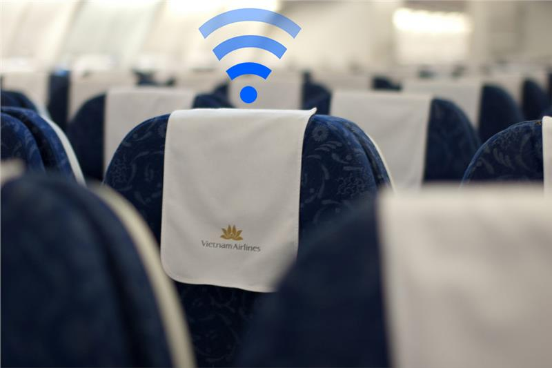 Vietnam Airlines aircrafts to have Wi-Fi coverage in May
