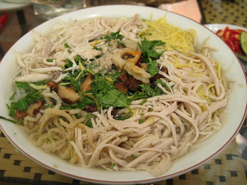 Bun Thang - A famous traditional food of Hanoi cuisine